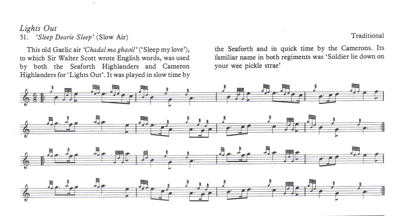 braveheart theme song sheet music for bagpipes Google