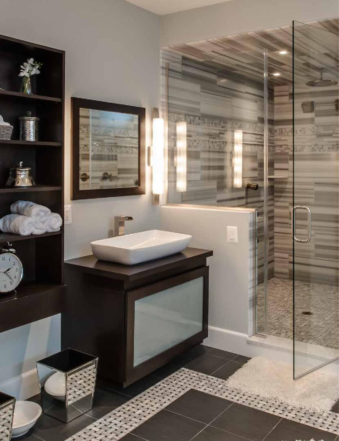 The Latest Bathroom Trends For 2016: Annapolis Home January 2013
