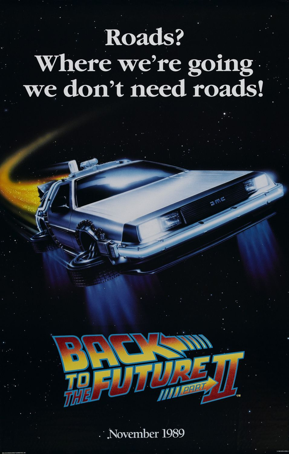 Return To The Main Poster Page For Back To The Future Part Ii One