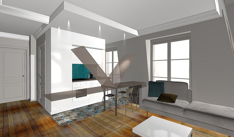 Changer optimiser l espace cuisine pour agrandir le for La maison france 5 architecte