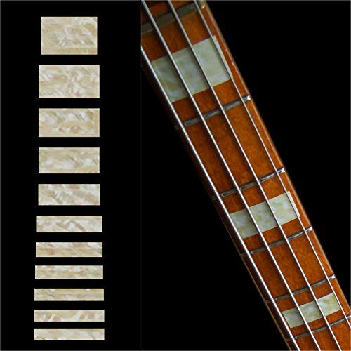Guitar Fretboard Decals For Bass - Fender JAZZ BASS Style - 10.95$