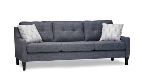 Stylus Made To Order Sofas Willow Zealous Metric Espresso Finish Hand Built Matching Loveseat Available