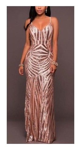 sequin gown Sexy