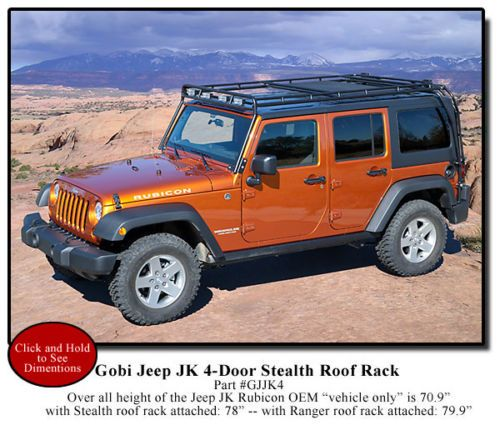jk by jeep roof fabrications rack unlimited system wrangler door camber off mbrp