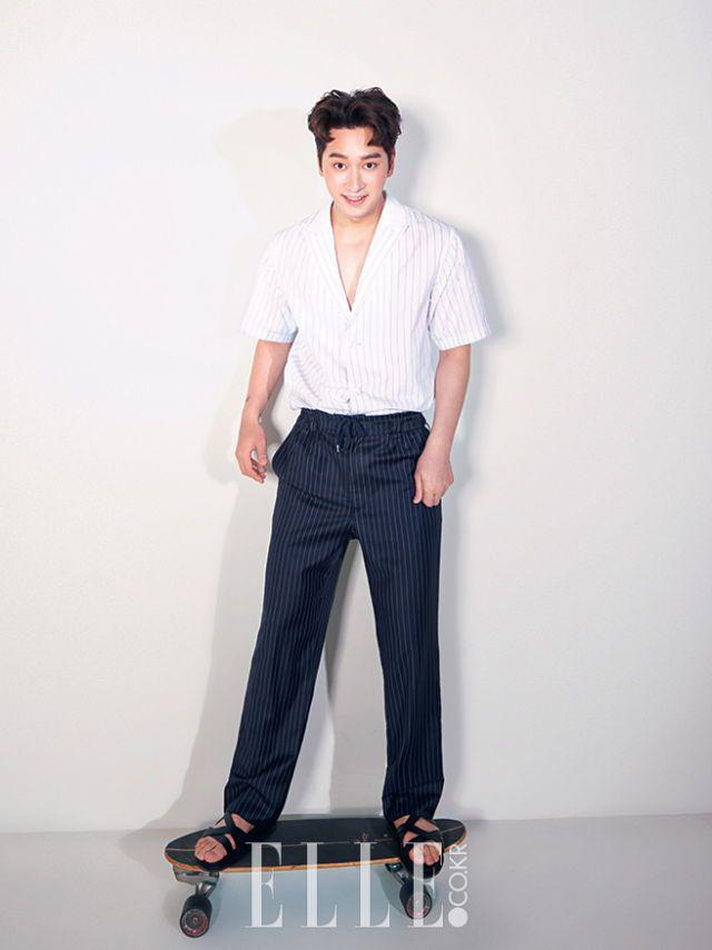 2PM Chansung - Elle Magazine July Issue '16