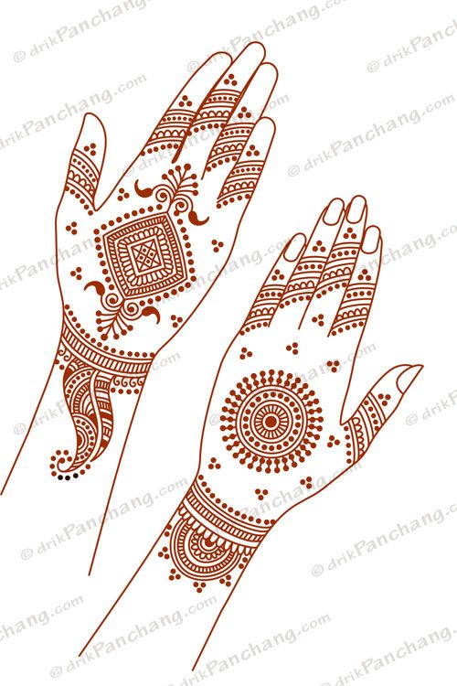 Pin By Chandru On Architecture: Right Click To Save Mehandi Design