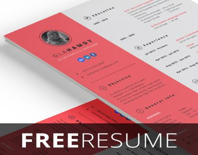 Free indesign resume    wwwmediafire download - colorful resume template free download