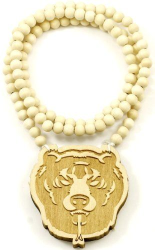 Bear 2 Good Wood Goodwood Maple Natural Wood Pendant Replica 32 Inch Necklace Piece GWOOD. $9.90. Smooth Finish Back; Bear Pendant Piece Wood Necklace; All Natural Wood Necklace; 36 Inch Wood Bead Necklace; Thicker Than Others With A Clear Detailed Face