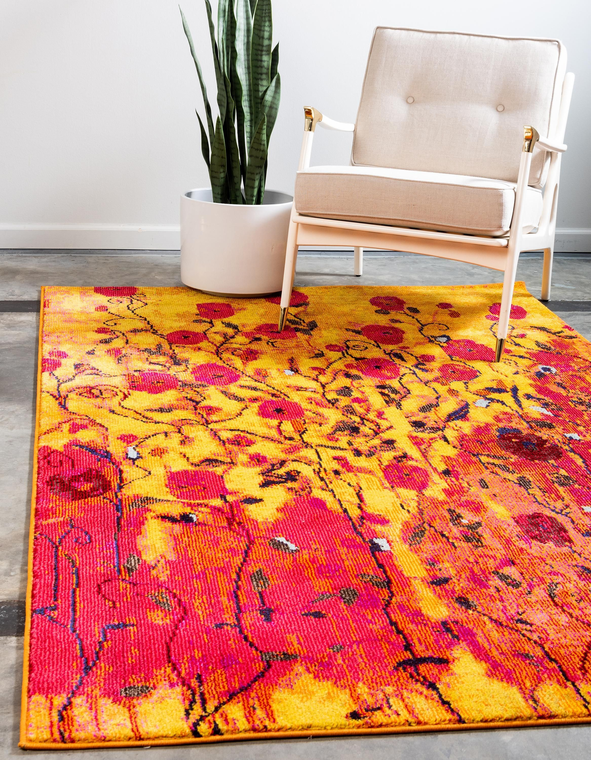 Add Vibrant Color To Your Home With Our Casablanca Collection Vivid Decor Rugs Yellow Area Rugs Unique Loom Area Rugs