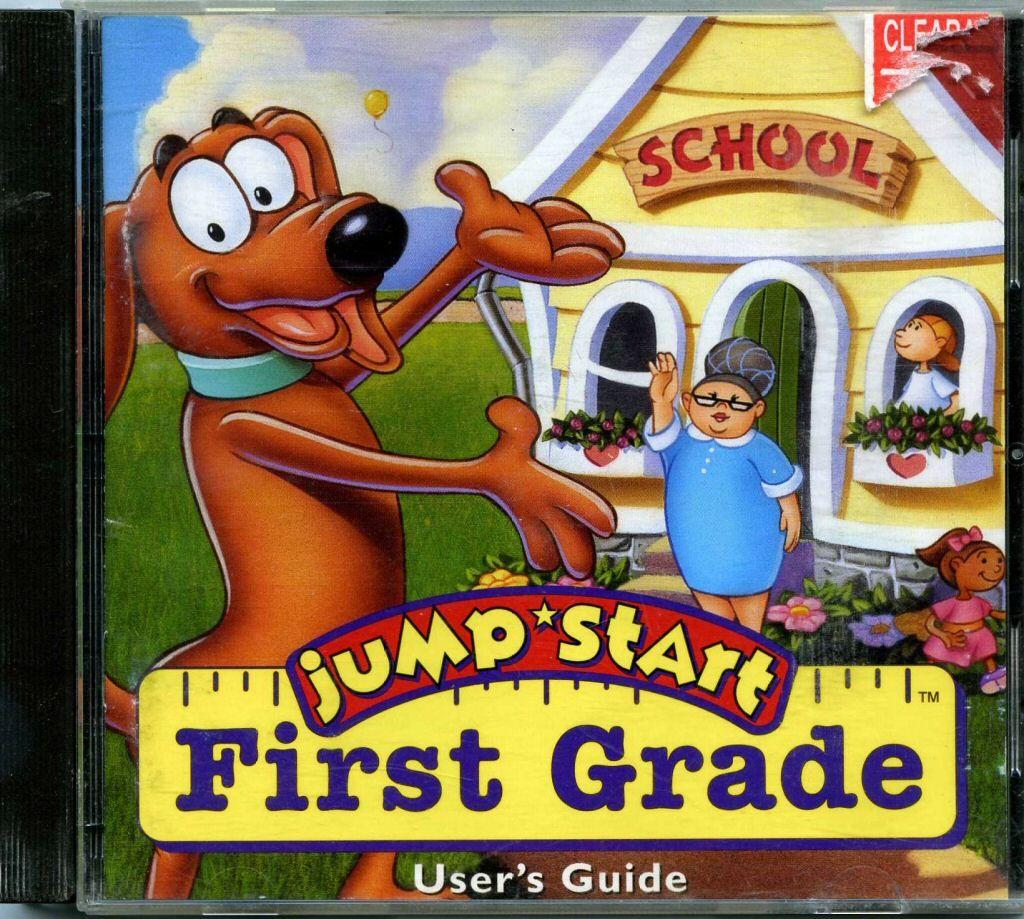 yesyesyes jump start first grade Childhood memories 90s