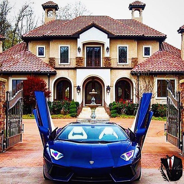 Nice Car Nice House Classy Luxurylife Lamborghini House