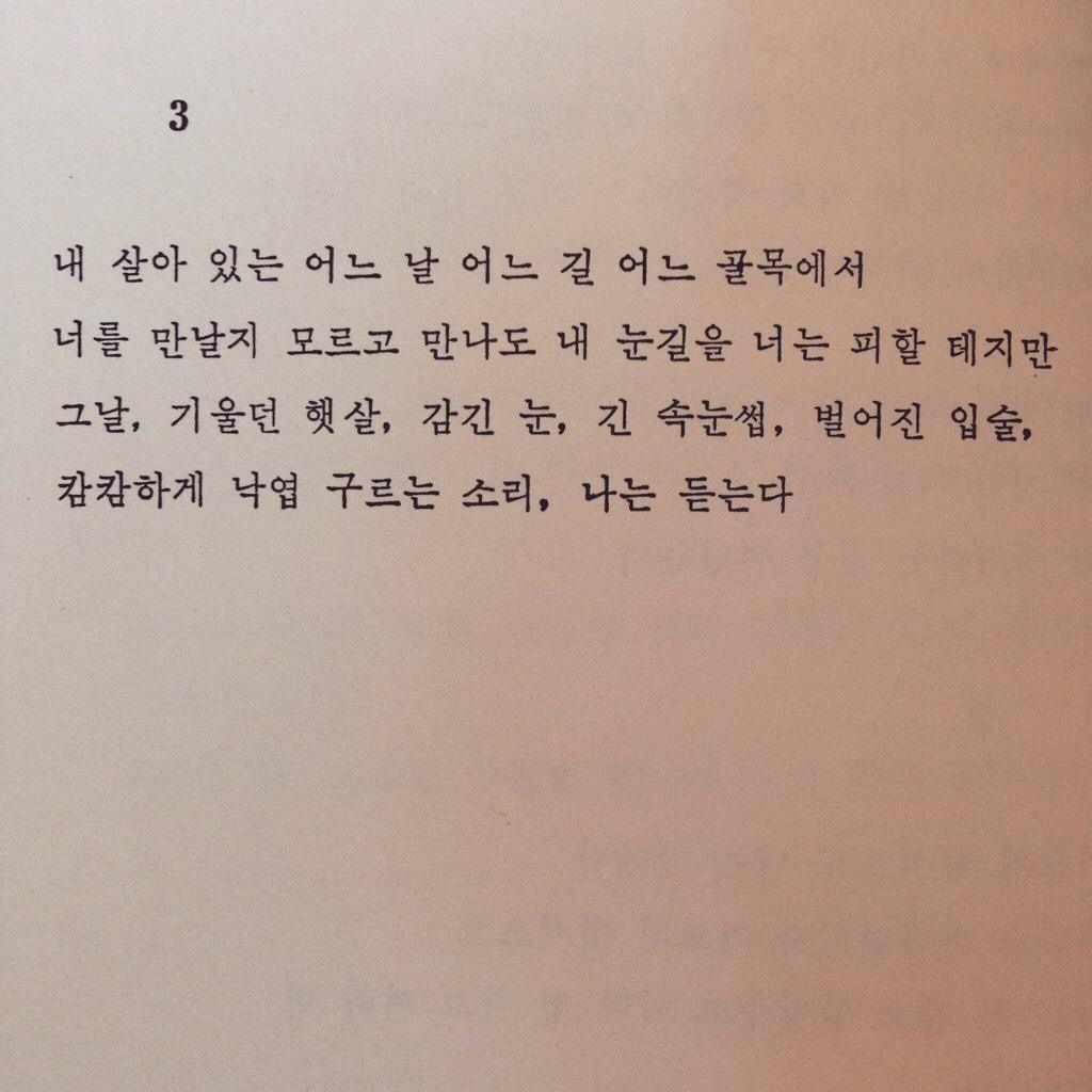 _이성복, '연애에 대하여'