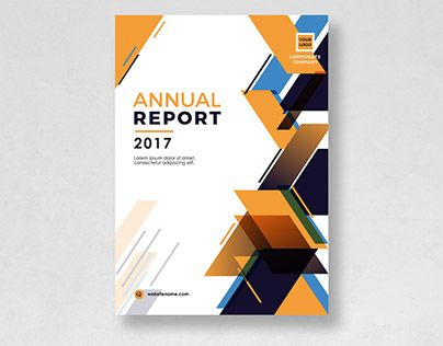 Pin by hasaka haziq on Free Template Annual report design, Cover