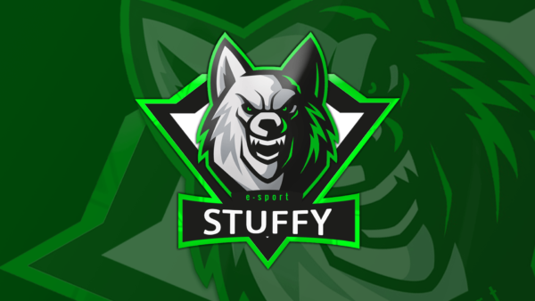 Wolf Gaming Clan Mascot Avatar Free PSD Zonic Design