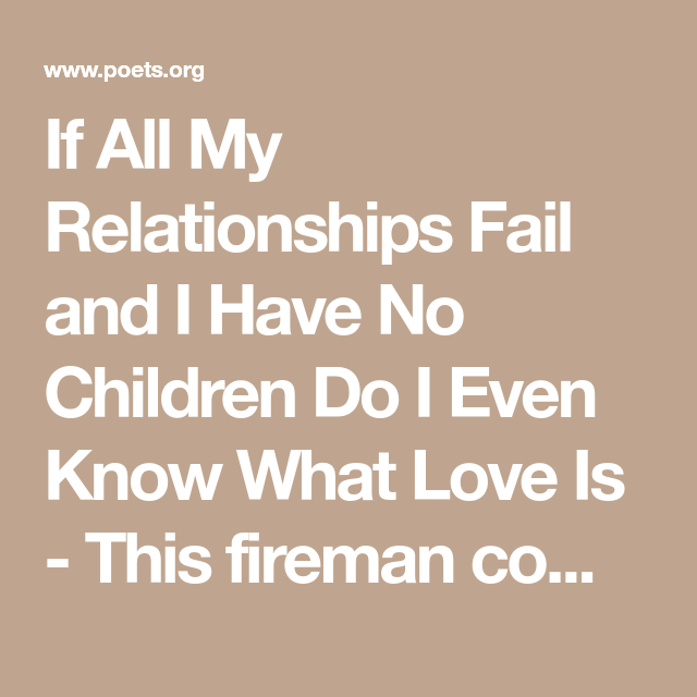 why do relationships fail