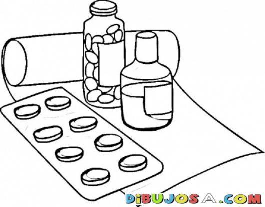 Imagenes De Remedios Para Colorear