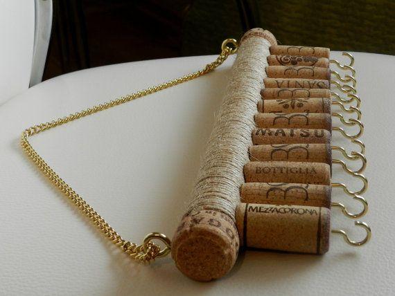 Wine Cork Jewelry Holder Key Holder Jewelry Holder