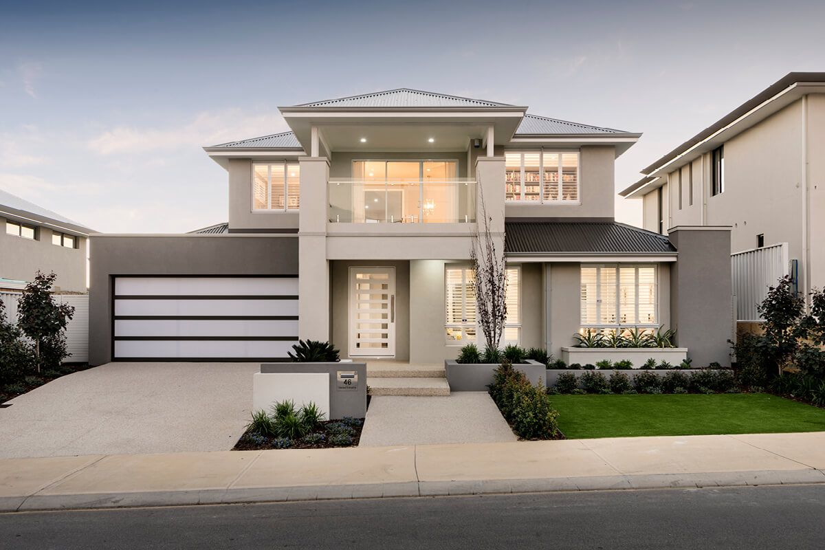 The Azur House design, Modern house design, Facade house