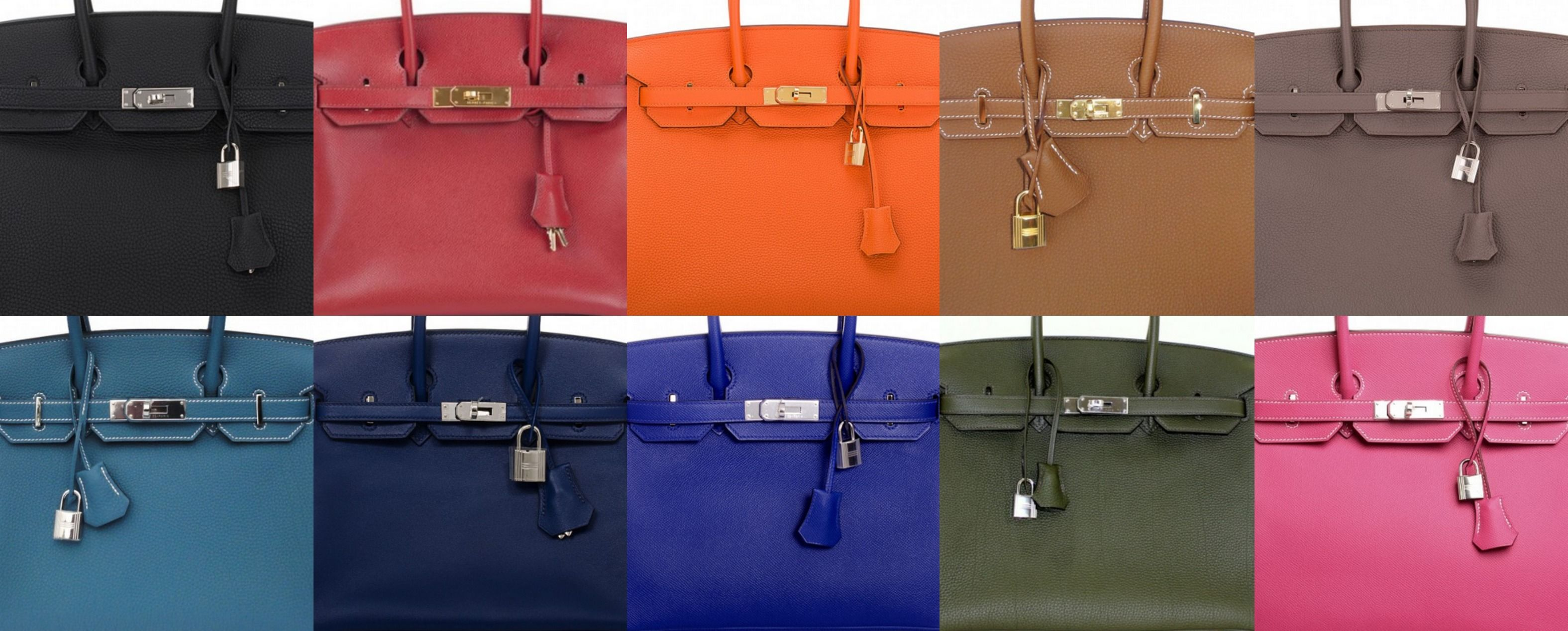 c1563149fde0 The 10 Most Popular Hermès Birkin Colors