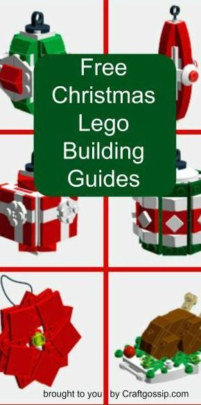 Make Your Own Lego Ornaments With These Free Instruction Booklets