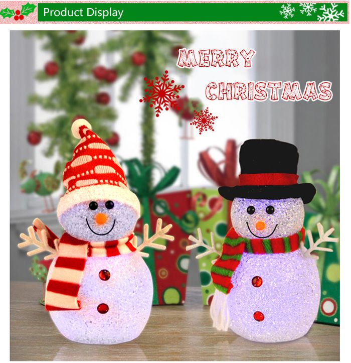 Flashing Snowman LED Christmas Light Ornament-5.26 and Free Shipping| GearBest.com