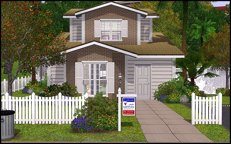 a house i made with the sims 3 | sims | pinterest | sims, house and