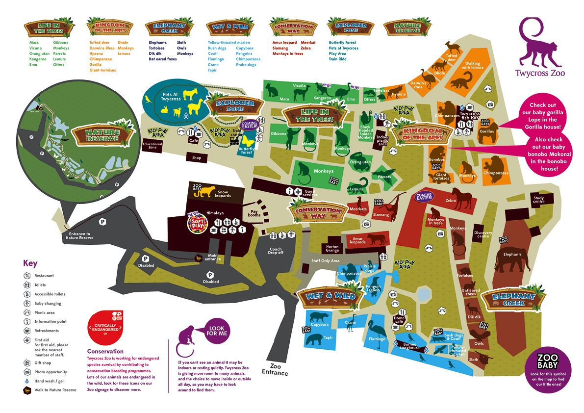 SPRING 2014 MAP Visits Pinterest Zoos