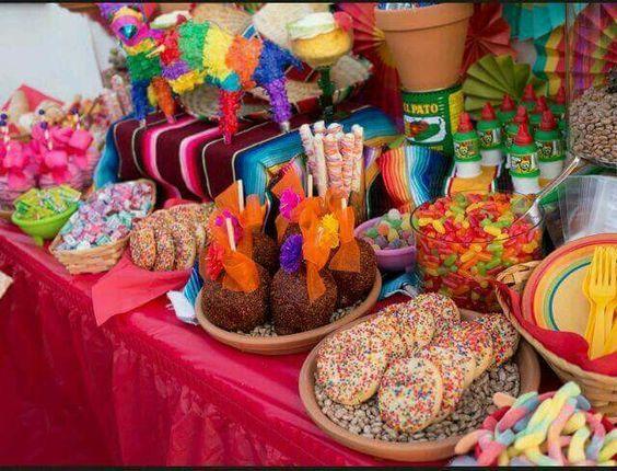 Ideas para fiestas tem tica mexicana - Ideas decorativas para cumpleanos ...