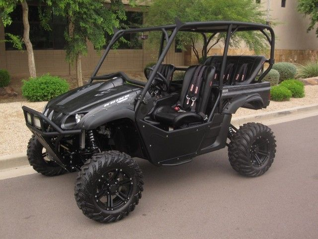 2008 Yamaha Rhino 700f1 Special Edition Fuel Injected