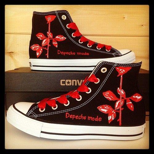 Depeche Mode Converse #converse #customconverse #chucks