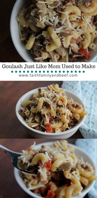 Goulash Just Like Mom Used to Make