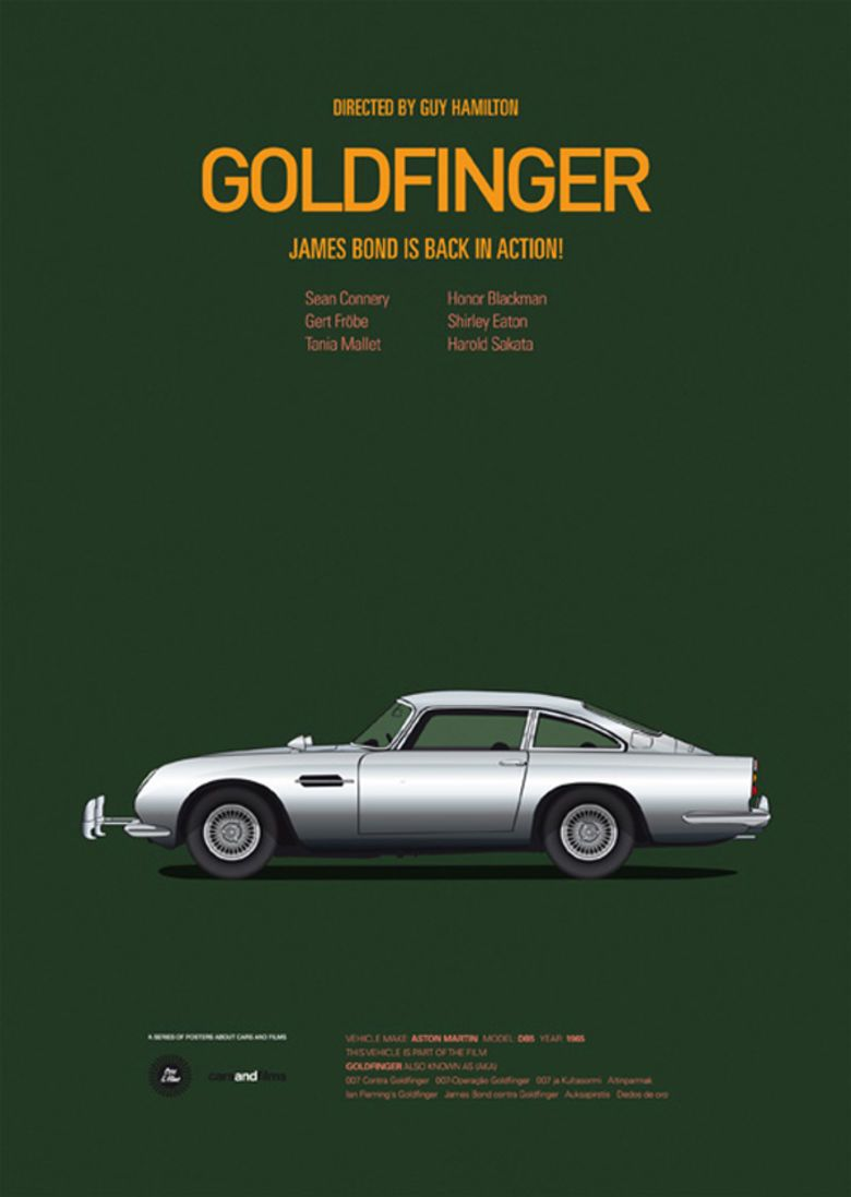 Famous Movie Cars Beautifully Illustrated Movie Cars And Famous - Famous movie cars beautifully illustrated