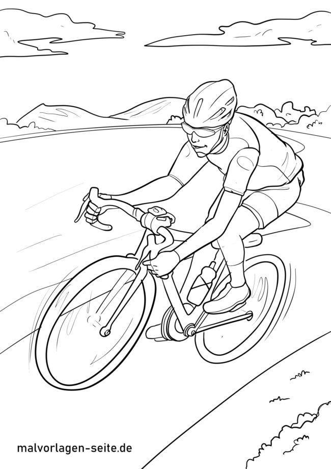 Malvorlage Rennrad Fahrrad Fahren Ausmalbilder Kostenlos Herunterladen Malvorlagen Malvorlagen Gratis Und Ausmalbilder