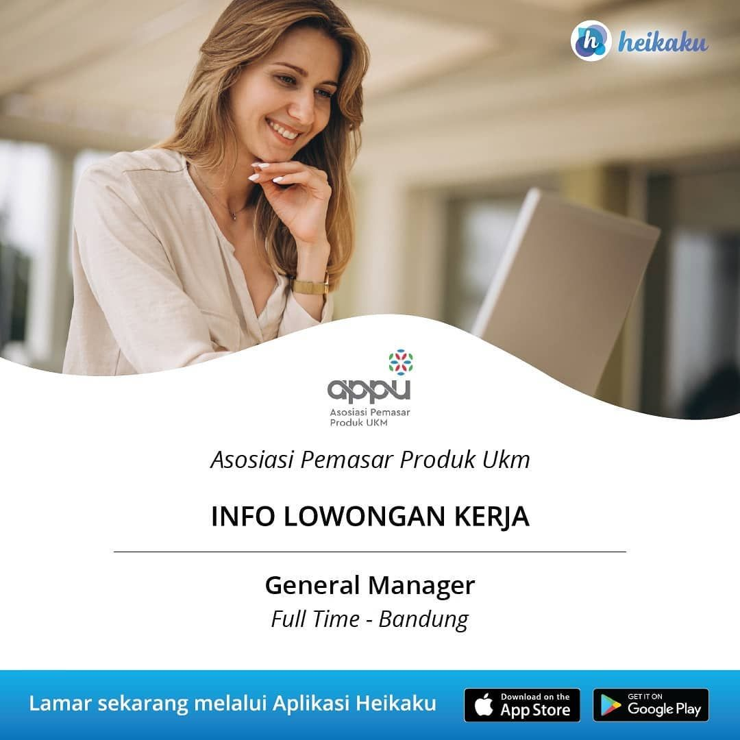 Informasi Lowongan Kerja Posisi General Manager Perusahaan