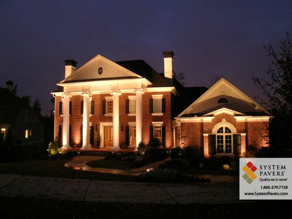Outdoor Lighting By System Pavers, Outdoor Lighting Systems Home