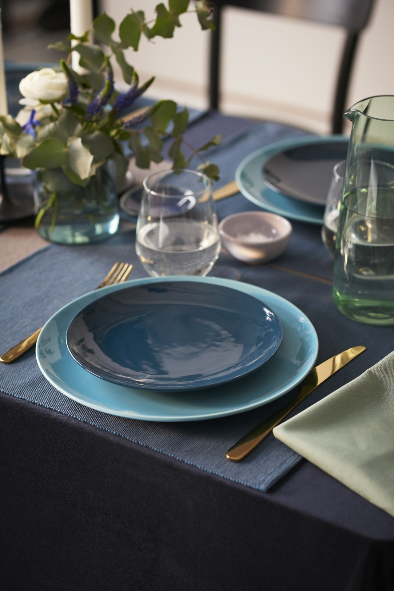 """M""""RIT Placemat donkerblauw"""