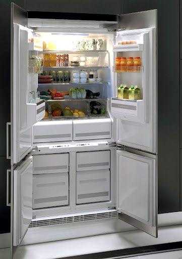 Genial Kuppersbusch IKE4580 1 4T Integrated 4 Door Fridge Freezer