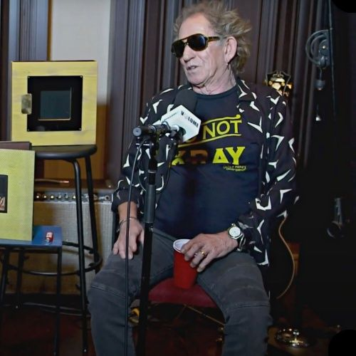 Keith Richards warns new Rolling Stones album may be a bit