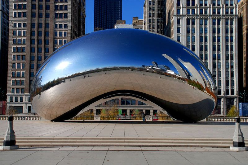 Cloud Gate Chicago Usa Anish Kapoor Chicago And Cloud