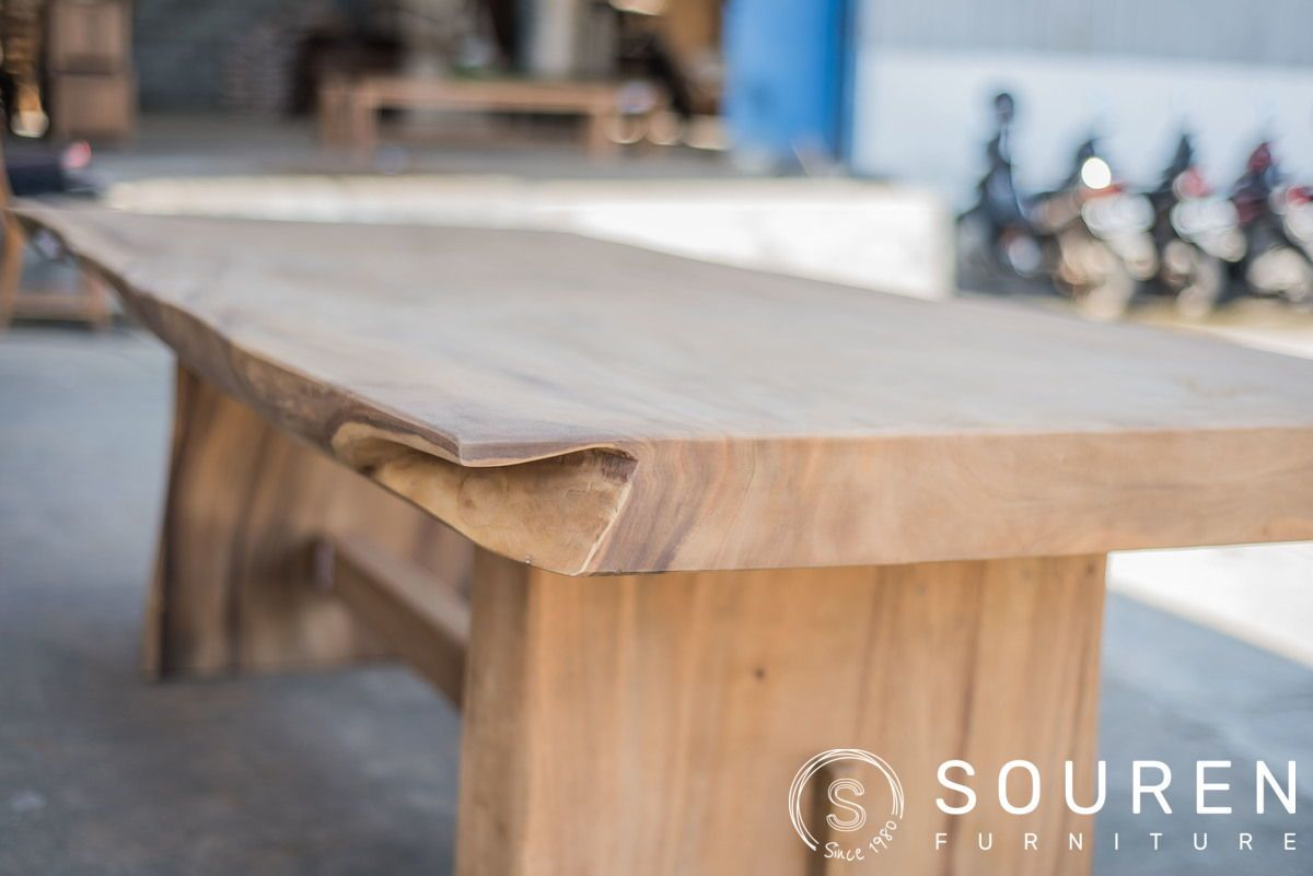 Großes Angebot An Exklusiven Baumstammtischen Sourenfurniture Teakmoebel Teakholland Teakfurniture Teak Furniture Gartenmöbel Tisch