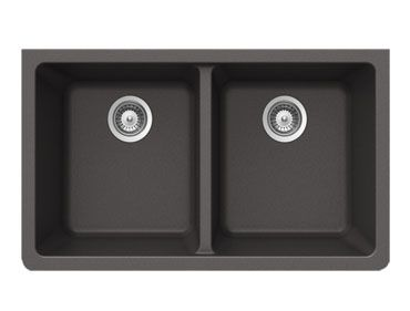 Quartztone X Granite Undermount Double Bowl Kitchen Sink. Wessan Available  From Home Hardware ...