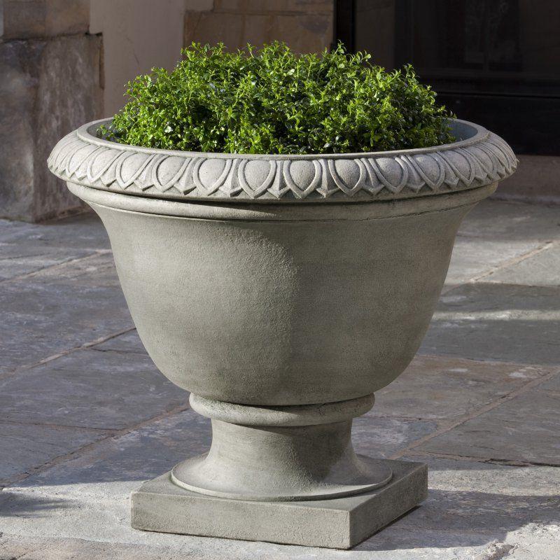 Campania International Easton Cast Stone Urn Planter Stone Planters Urn Planters Planters