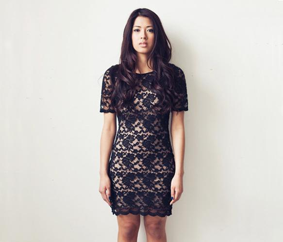 Lace T Dress