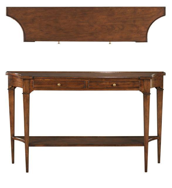 High Point Oct 12 Market: Woodbridge Furniture   Marseille Console Table.  Donnavining.com