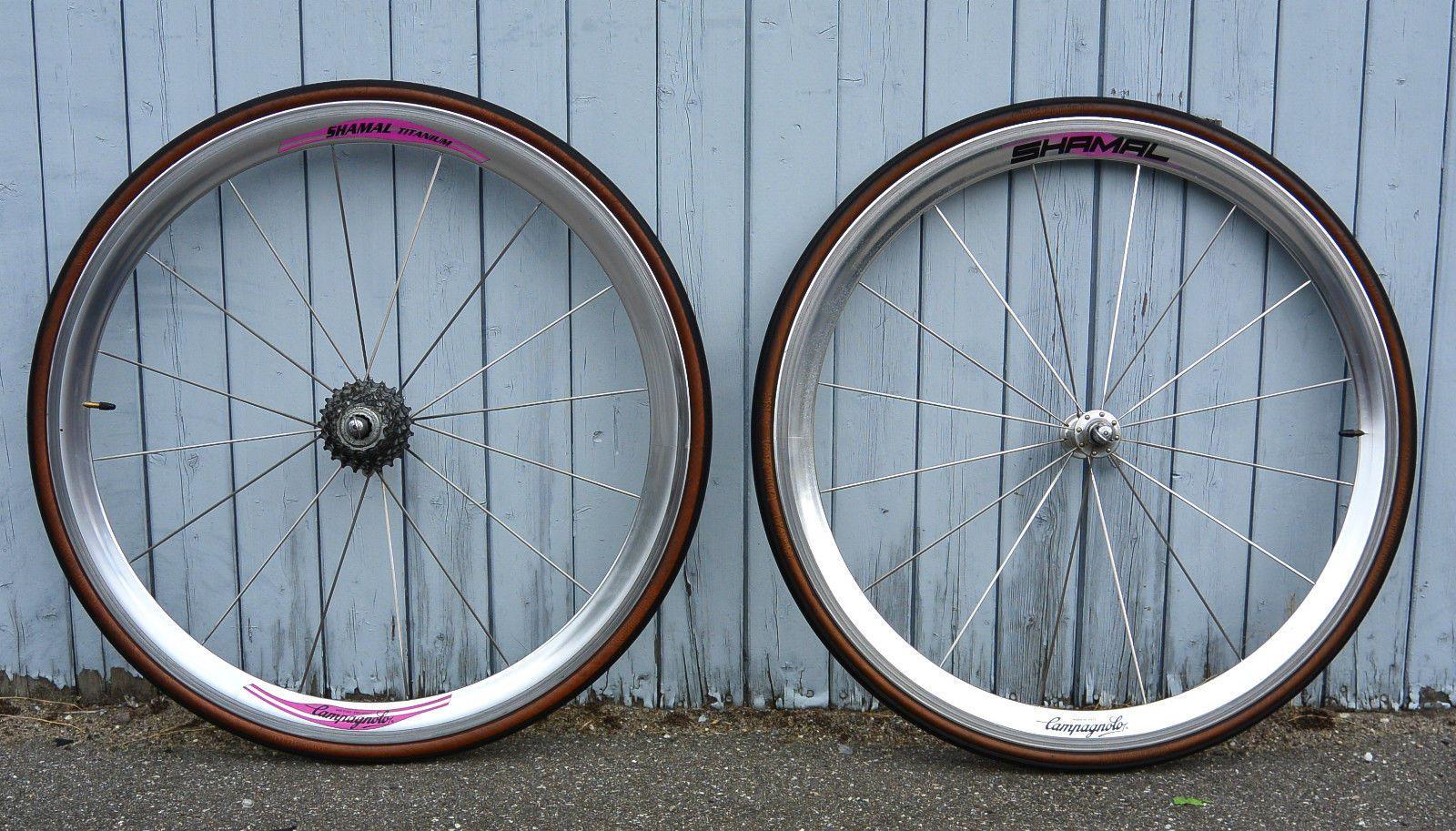 Campagnolo Shamal Wheelset Laufradsatz Clincher 700c 12 HPW Chorus 8 Speed Fach | eBay