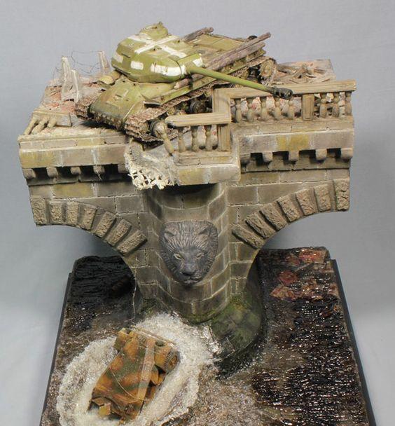 Tanques más Spree | Dioramas y Viñetas | Galería de Diorama.ru
