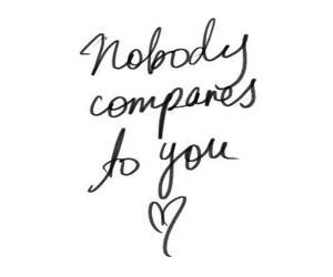 Nobody compares! Your love makes m life amazing amour!
