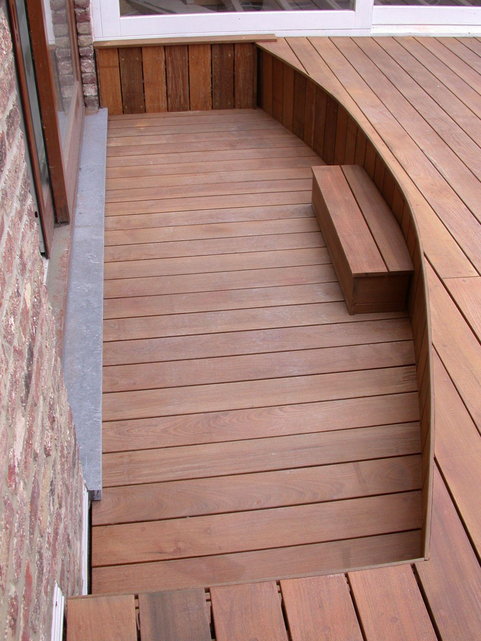 terrasse en bois padouk fixations visseries invisibles hapax terrasse en bois hapax. Black Bedroom Furniture Sets. Home Design Ideas
