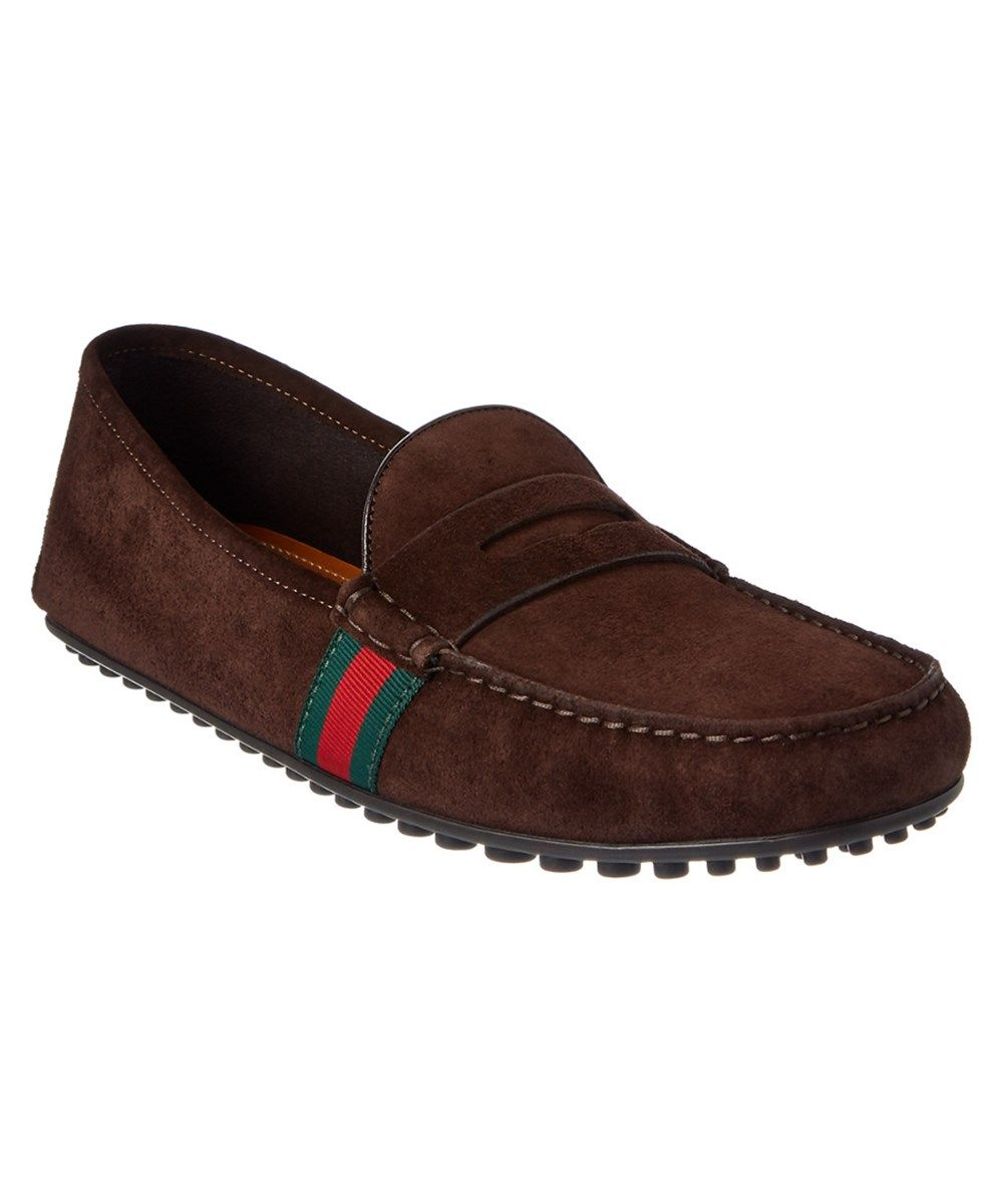 Blue suede loafers, Driving shoes men