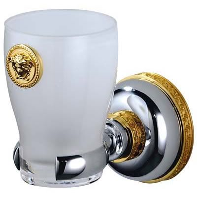 Versace Home Wall Cup Holder Two Tone Versace Home Gold Ceramic Versace Home Decor